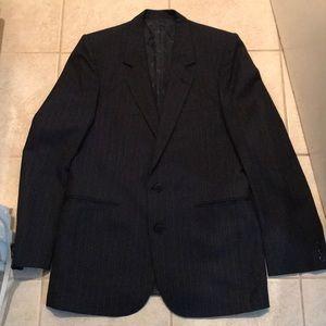 Christian Dior Suit Separates Striped Blazer